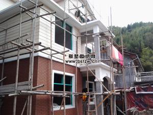 三层郴州宜章县135平米农村自建别墅客户施工案例