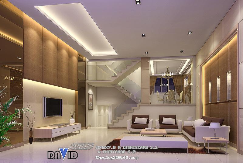 别墅客厅装修效果图欣赏
