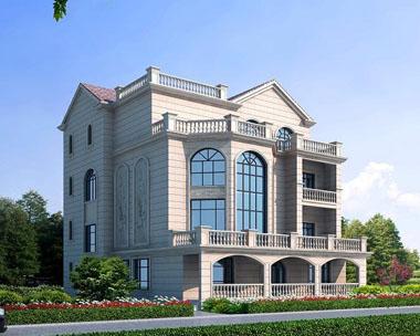 四层豪华大别墅带阳台和露台