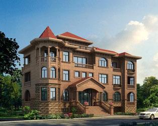 三层豪华欧式复式别墅