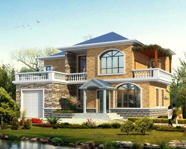 简洁实用型现代别墅图