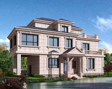 现代独特风格三层别墅