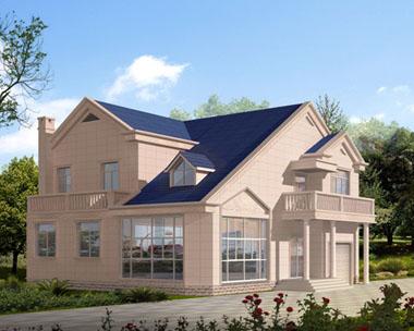二层经济实用型别墅效果图