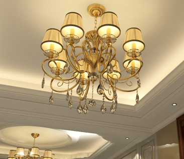 【专属定制】豪华别墅室内装修设计360度全景效果