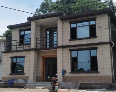 【实建案例】自建AT1720南昌二层简洁别墅工程案例