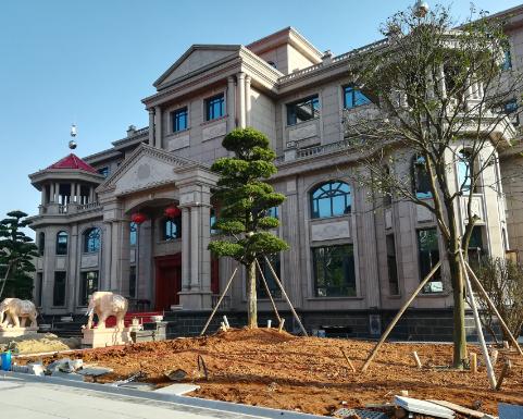 【实建案例】湘潭沈宅—千万级别墅及园林设计施工案例