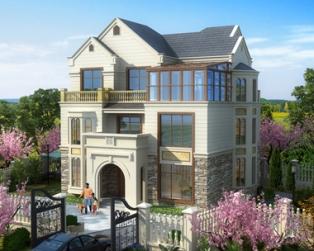 占地130平方米欧式别墅设计图,美翻了,谁看谁喜欢。