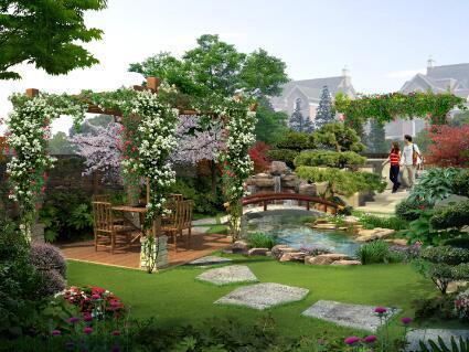 【私家别墅花园设计的6个步骤】-打造最想要的庭院园林绿化设计效果