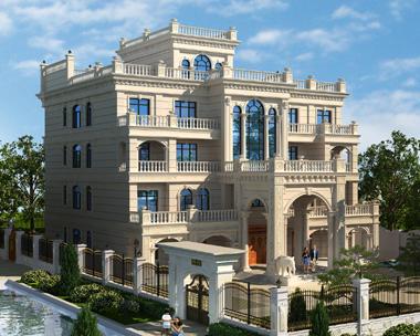 永州杨总四层欧式风格高端大气别墅设计案例图欣赏