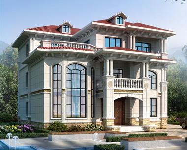罗女士私人定制三层欧式别墅设计案例图欣赏