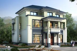 【开封别墅设计公司】专业自建房屋图纸设计-开封农村别墅设计院