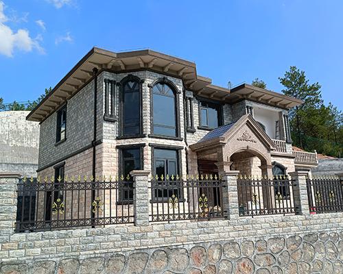 醴陵市张先生二层小户型简欧复式别墅定制设计案例图欣赏