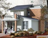 [永云别墅]AT178优雅新农村二层别墅住宅方案全套施工图纸9m×12m