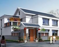 559二层新农村双拼别墅全套图纸11m×18m