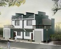 455湖南社会主义新农村可双拼住宅 8.4m×10.8m