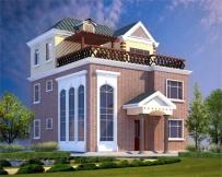 [永云别墅]AT138某坡屋顶三层别墅全套结构水电图纸11m×12.5m