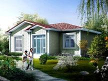 [永云别墅]AT003一层新农村房屋设计全套小别墅图纸12m×9m