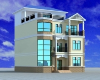 【永云别墅】AT396四层复式楼中楼别墅建筑构结构水电设计图纸 10m×11m