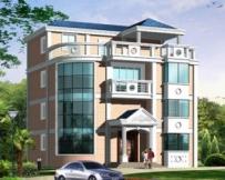 [永云别墅]AT406四层别墅建筑结构水电设计施工图纸 12m×12m