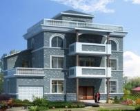 [永云别墅]AT462三层实用农村自建房别墅建筑施工全套图纸15.3m×11m