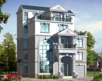 [永云别墅]AT419四层带夹层高档别墅房屋设计图纸13m×8.8m