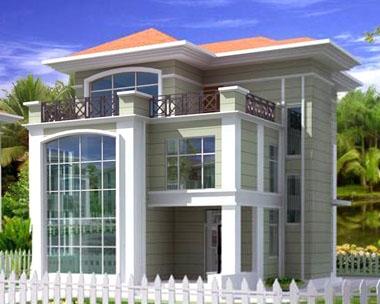 993欧式三层小别墅设计全套图纸13m×9m