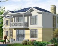 [永云别墅]AT175新农村建房推荐优雅小别墅设计图纸11m×9m