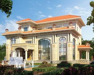 永云别墅AT092三层高端大气复式楼中楼别墅全套设计图纸17.7mx15.7m