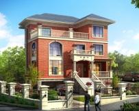永云别墅AT267三层复式带架空层别墅全套施工图纸设计12mx11.2m