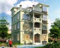 永云别墅AT1629四层简洁实用别墅设计施工图纸9.5mx10.5m