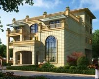 永云别墅AT253四层复式带屋顶花园别墅设计图纸18.6mx16.9m