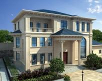 永云别墅AT1710三层豪宅复式楼中楼别墅及园林全套设计图纸18.5mx13.7m