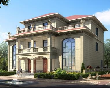 简约三层兄弟双拼复式楼别墅设计全套施工图纸16.8mX16.1m