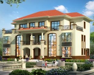 AT1907三层简单大方复式兄弟双拼别墅设计全套施工图纸21mX12.2m