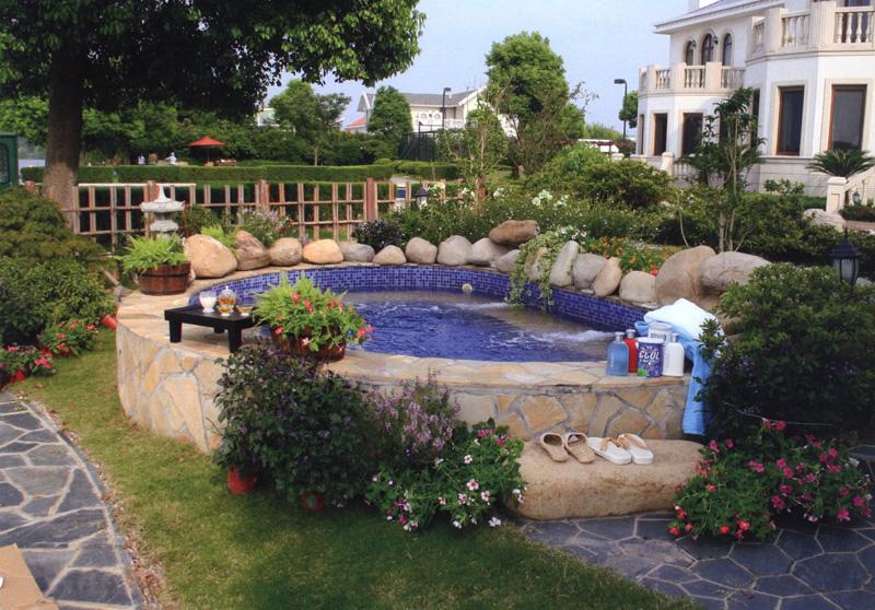 别墅花园设计图